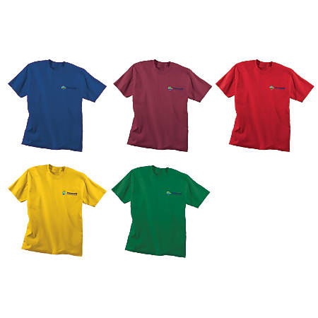 17f9c024d Screened 5050 T Shirt Color - Office Depot