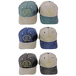 Embroidered Stonewashed Cotton Cap