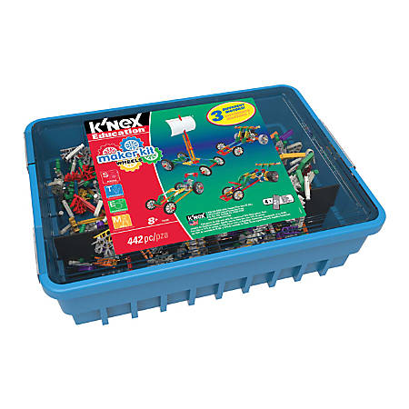 K'NEX Education® 442-Piece Wheels Maker Kit