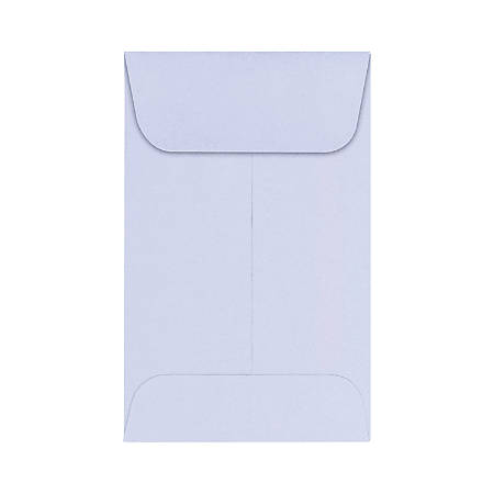 """LUX Coin Envelopes, #1, 2 1/4"""" x 3 1/2"""", Lilac, Pack Of 1,000"""