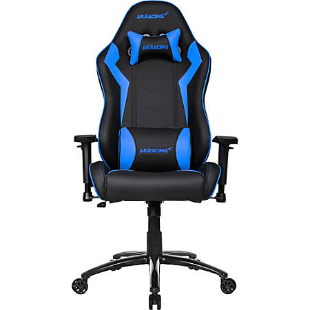AKRacing Core Series SX Faux Leather Gaming Chair, Blue