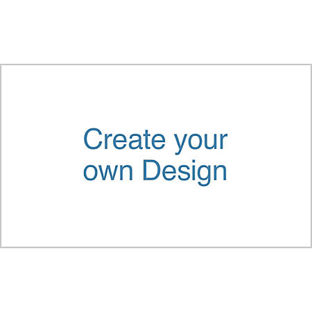 A-Frame Sign, Horizontal, Create Your Own