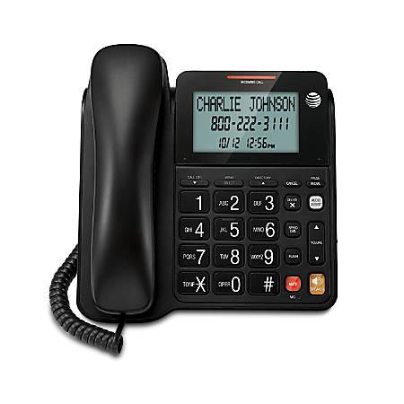 Vtech® AT&T CL2940 Corded Speakerphone, Black