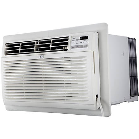 LG 10,000 BTU 230v Through-the-Wall Air Conditioner - Cooler - 2872.10 W Cooling Capacity - 440 Sq. ft. Coverage - Yes - Remote Control - Yes - White
