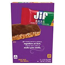 Jif Peanut Butter Chocolate Granola Bars