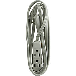 GE 3 Outlet Office Extension Cord