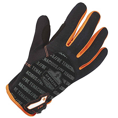 Ergodyne ProFlex 812 High-Dexterity Tactical Gloves, X-Large, Black