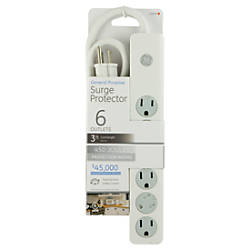GE 6 Outlet Surge Protector 3