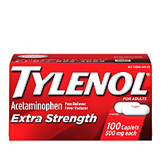 Tylenol Extra Strength Caplets Box of