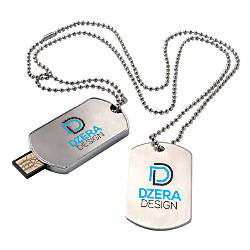 Dog Tag USB 20 Flash Drive