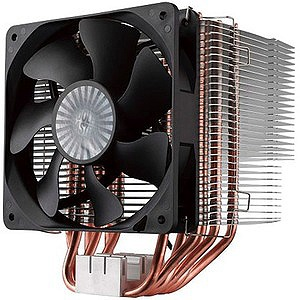 Cooler Master Hyper 612 Ver  2 RR-H6V2-13PK-R1 Cooling Fan/Heatsink - 1 x  120 mm - 1300 rpm - Rifle Bearing - Socket T LGA-775, Socket H3 LGA-1150,