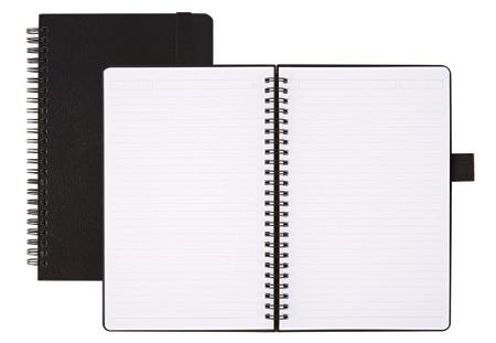 Office Depot® Brand Hard Cover Premium Business Notebook, Junior, 5 1/2