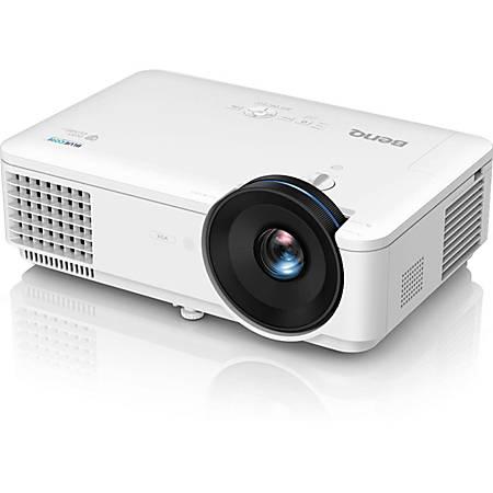 BenQ BlueCore LX720 3D Ready DLP Projector - 4:3 - 1024 x 768 - Ceiling, Front - 720p - 20000 Hour Normal ModeXGA - 100,000:1 - 4000 lm - HDMI - USB