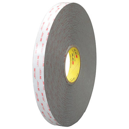 """3M™ VHB™ 4959 Tape, 1.5"""" Core, 1"""" x 5 Yd., White"""