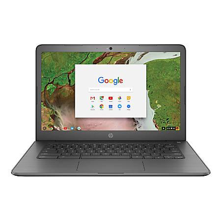 "HP Chromebook 14-ca070nr Laptop, 14"" Touch Screen, Intel® Celeron®, 4GB Memory, 32GB eMMC, Google™ Chrome OS"
