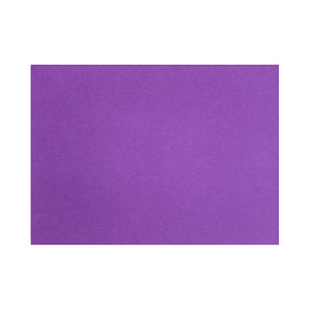 """LUX Flat Cards, A7, 5 1/8"""" x 7"""", Purple Power, Pack Of 50"""