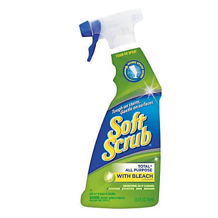 Softscrub Multipurpose Cleaner with Bleach Spray, 25.4 Oz