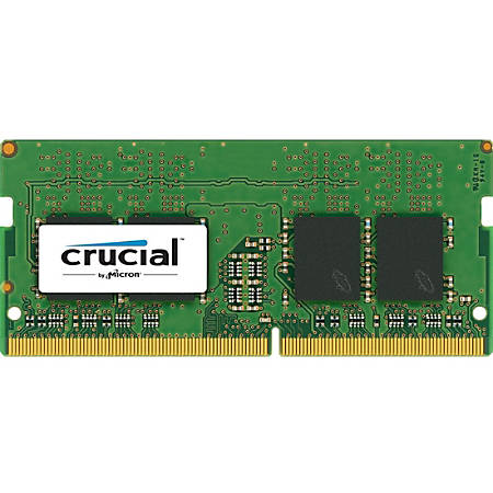 Crucial 4GB DDR4 SDRAM Memory Module - 4 GB - DDR4-2400/PC4-19200 DDR4 SDRAM - CL17 - 1.20 V - Non-ECC - Unbuffered - 260-pin - SoDIMM