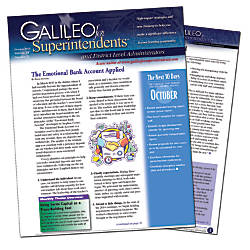The Master Teacher Galileo for Superintendents