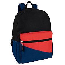 Trailmaker Colorblock Backpacks Assorted Colors Pack