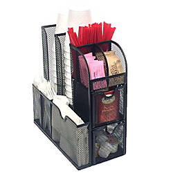 Mind Reader Organizer Coffee Condiment Organizer