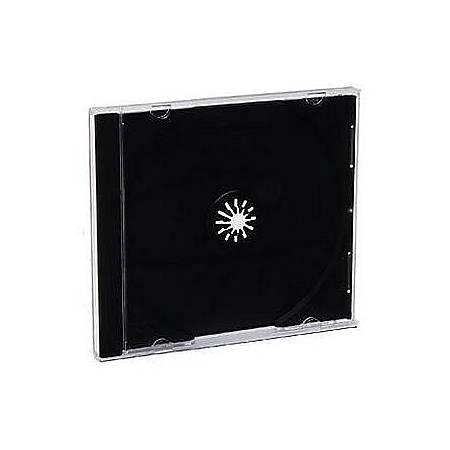Verbatim 94867 CD and DVD Standard Jewel Cases 200 PK