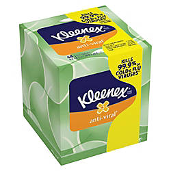 Kleenex BOUTIQUE 3 Ply AntiViral Facial