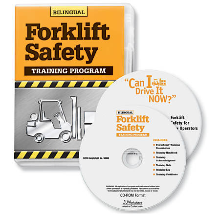 ComplyRight Forklift DVD/CD-ROM Bilingual Training Kit