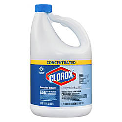 Clorox Concentrated Germicidal Bleach 121 Oz