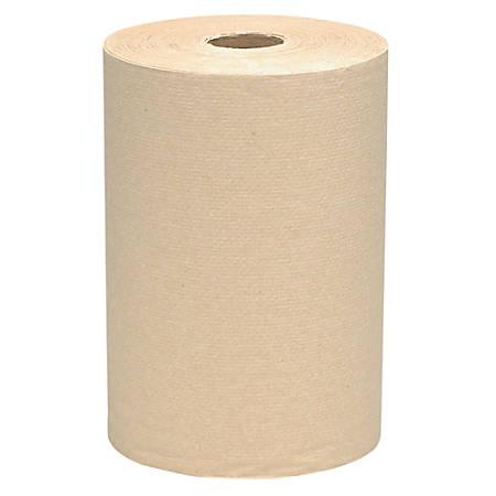 "Scott® 100% Recycled Kraft 8"" Roll Towels, Case Of 12 Rolls"