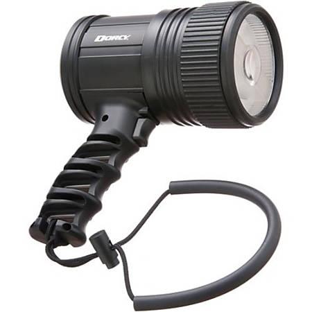 Dorcy 41-1085 500 Lumen LED Focusing Spotlight - Bulb - C - Plastic, Rubber - Black