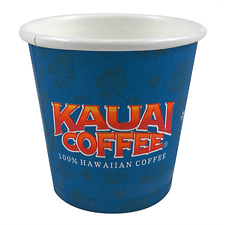 Kauai Coffee Cups, 12 Oz, Blue, Pack Of 500