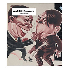 Retrospect Wartime Graphics Monthly Desk Calendar