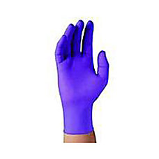 Purple Nitrile Sterile Pairs Exam Gloves