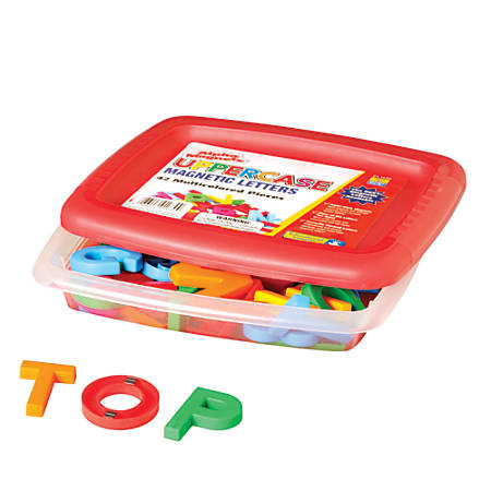 AlphaMagnets®, Uppercase Letters, Assorted Colors, Pack Of 42