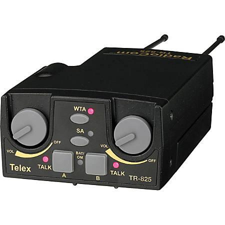 Telex TR-825 UHF Two-Channel Binaural Wireless Beltpack