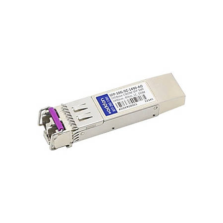 AddOn Arista Networks SFP-10G-DZ-1490 Compatible TAA Compliant 10GBase-CWDM SFP+ Transceiver (SMF, 1490nm, 80km, LC, DOM)