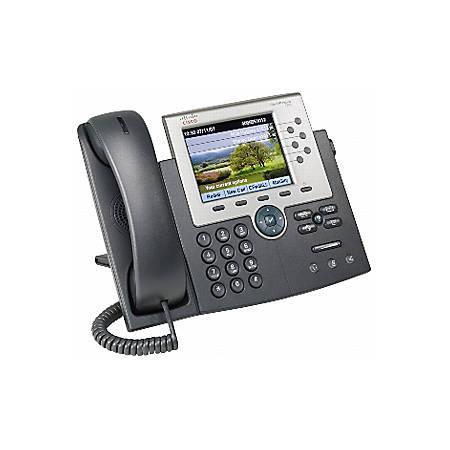 Cisco 7965G Unified IP Phone - 1 x RJ-45 - 6Phoneline(s)