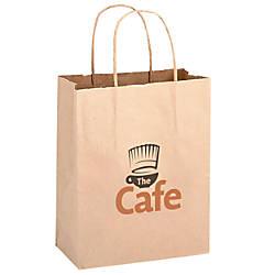 Small Kraft Paper Shopping Bag 10