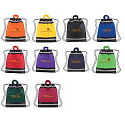 Reflective Sports Pack Drawstring Bag
