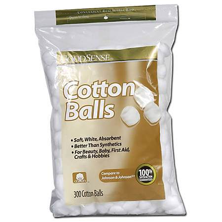 Good Sense Cotton Balls, Bag Of 300