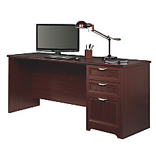 Realspace Magellan Performance Straight Desk Cherry