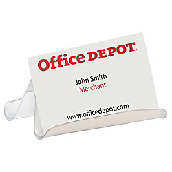 Office depot brand business card holder clear by office depot office depot brand business card holder clear colourmoves