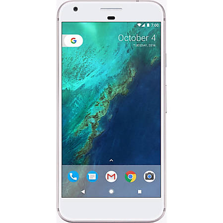Google™ Pixel XL Cell Phone, Very Silver, PGN100023