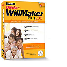 Quicken WillMaker Plus 2017 Mac Download