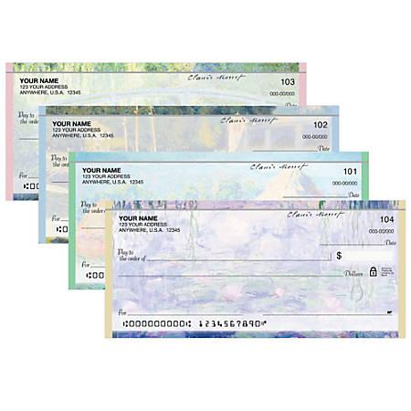 "Personal Wallet Checks, 6"" x 2 3/4"", Singles, Art On Canvas, Box Of 150"