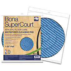 Bona SuperCourt Athletic Floorcare Microfiber Cleaning