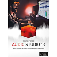 SOUND FORGE Audio Studio 13