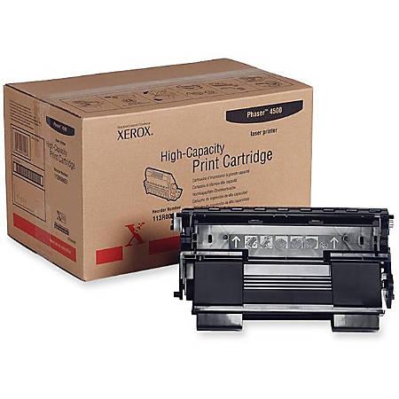 Xerox® 113R00657 High-Capacity Black Toner Cartridge