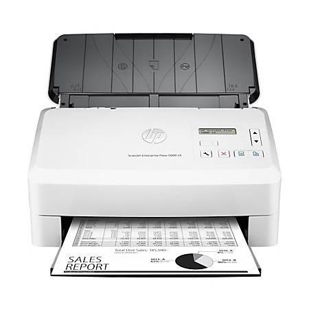 HP Scanjet 5000 s4 Sheetfed Scanner - 600 dpi Optical - 48-bit Color - 50 ppm (Mono) - 50 ppm (Color) - Duplex Scanning - USB